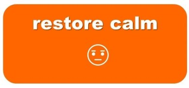 how to calm down orange zone calming tool mission