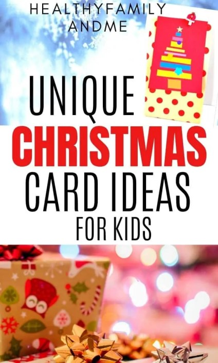 Christmas Card Ideas Best Christmas Card Diy For Kids Healthy Family And Me