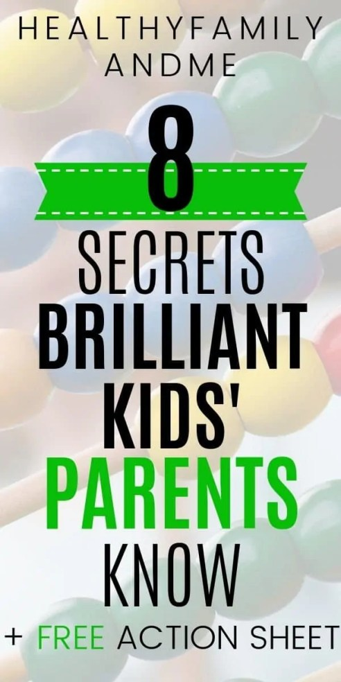 Do you want a brilliant child? We all do! Discover great parenting tips to help you raise smart kids. Free printable action sheet. This is how to raise brilliant kids with positive parenting solutions. Best parenting advice to raise happy toddlers with parenting 101 tips. #parenting #parentinghacks #parentingtips #kidsandparenting #brilliantchild #freeprintable