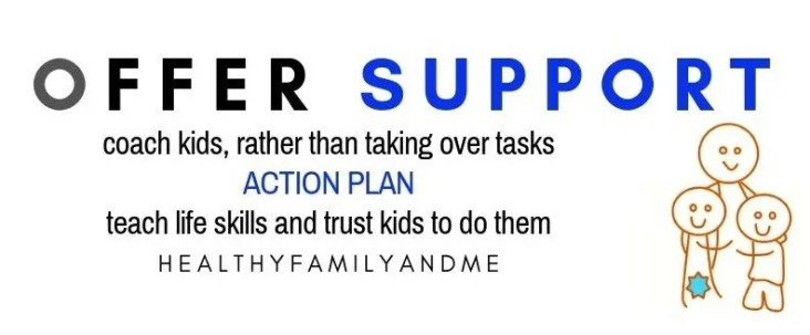 Offer support become a power parent today with these 5 simple strategies. #powerparent #parentingtips