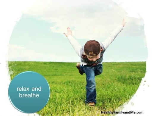 Relax and breathe as part of the brilliant child parenting tips. #parenting