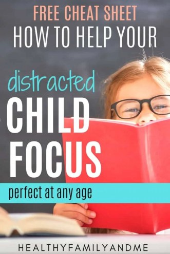 child focus and reading