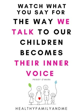 parenting quote from healthy family and me