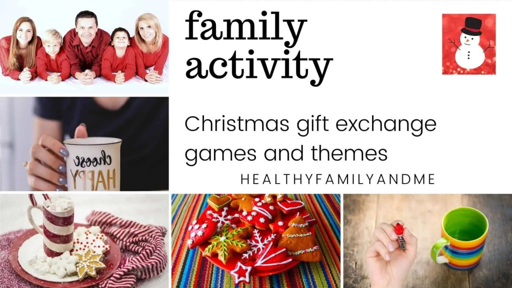 Christmas gift exchange games family activity