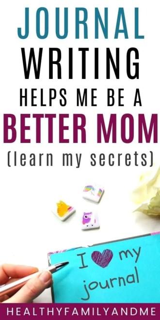 better mom journal writing