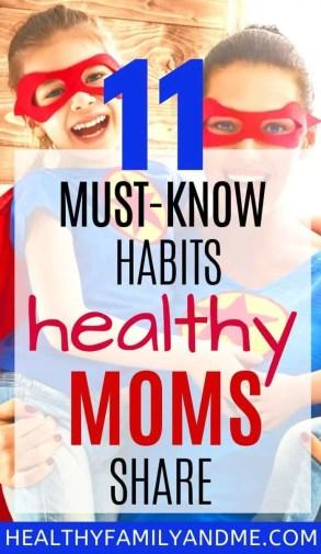 healthy mom