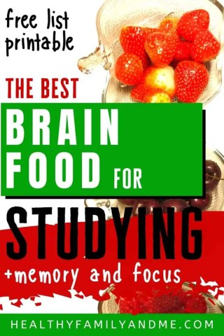 brain food for studying