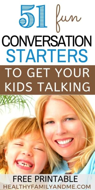 conversation starters for kids