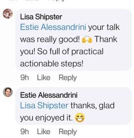 lisa testimonial
