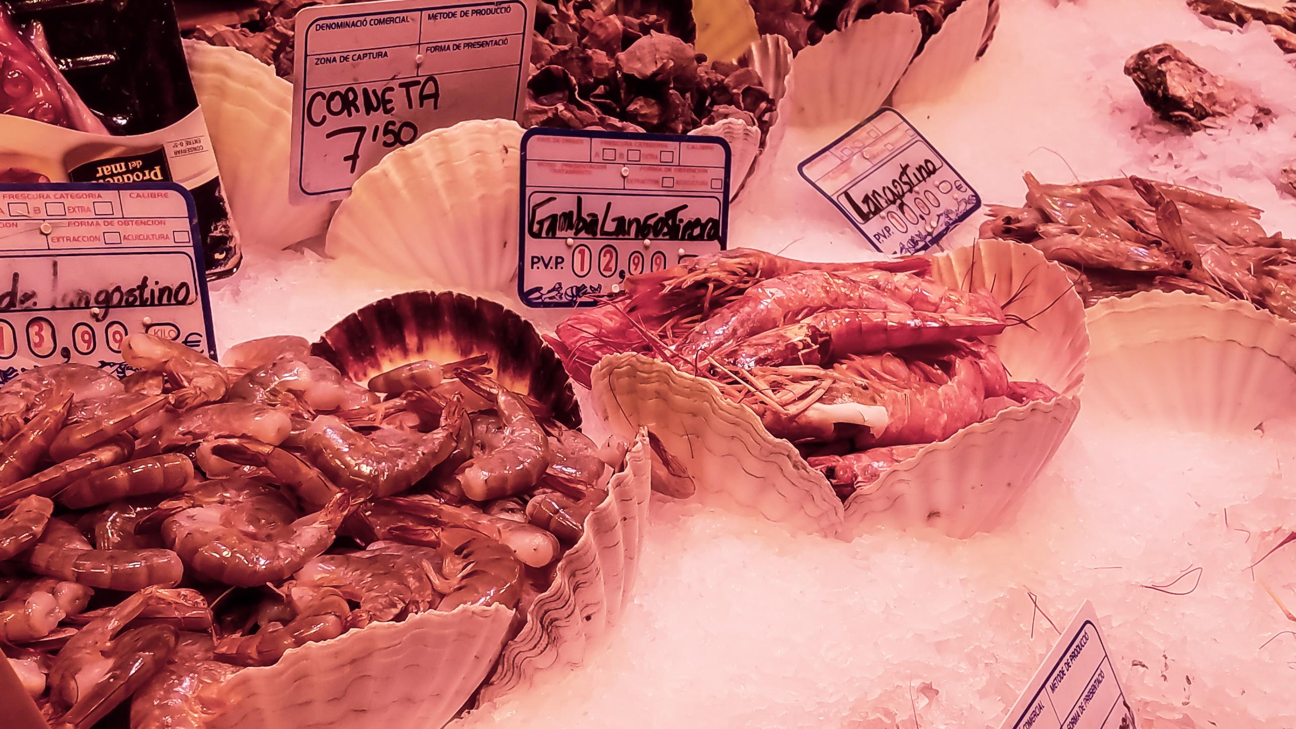 seafood barcelona