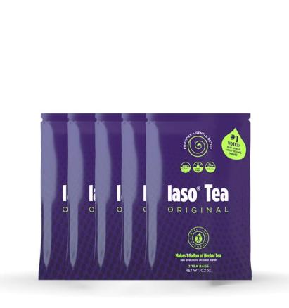 IASO TEA 5 PACK - BREWED TEA