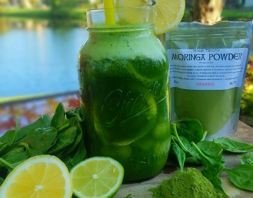 Morninga Spinach Lemonade Recipe