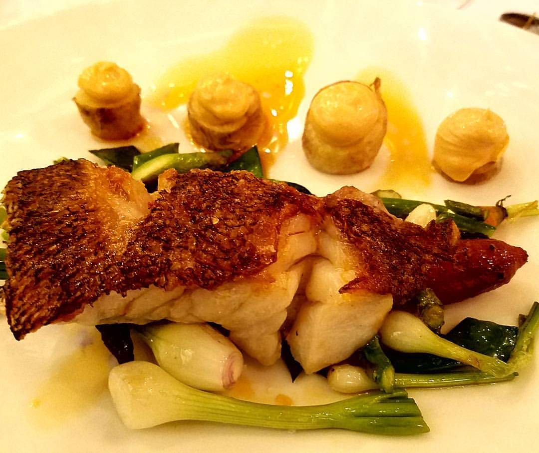 fish dinner spain
