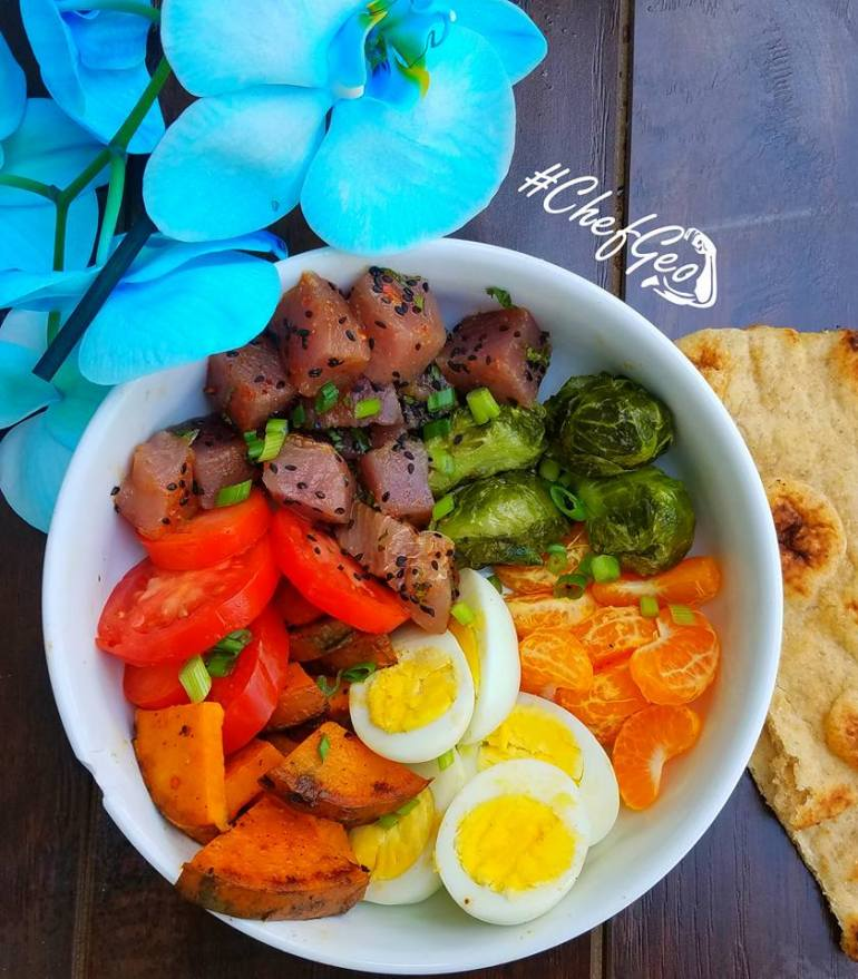 "How to make an Easy Fresh Tuna Sashimi Bowl<span class=""rating-result after_title mr-filter rating-result-1468"" >			<span class=""no-rating-results-text"">No ratings yet.</span>		</span>"