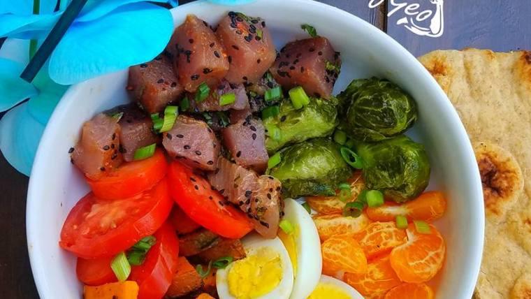 How to make an Easy Fresh Tuna Sashimi Bowl