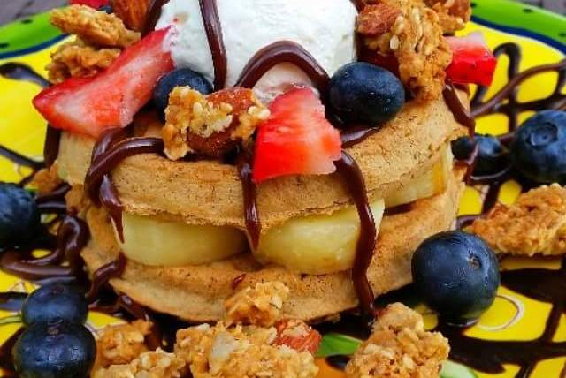 """Healthy, Easy to Make Van's Protein Loaded Waffles Recipe<span class=""""rating-result after_title mr-filter rating-result-3209"""" ><span class=""""no-rating-results-text"""">No ratings yet.</span></span>"""
