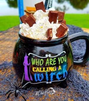 Spooky Halloween Witch's Brew Keto Protein Coffee Recipe