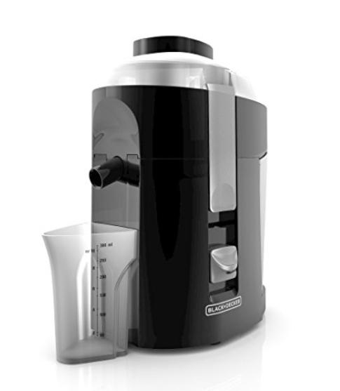 Black & Decker JE2200B 400-Watt Fruit & Vegetable Juice Extractor. Best Juicer review.