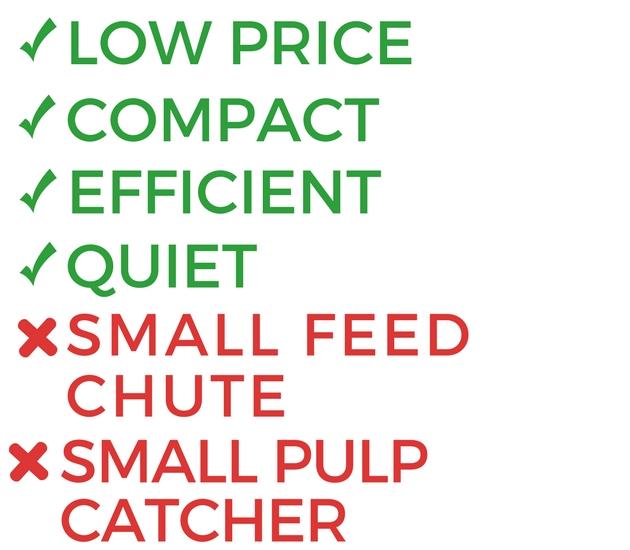 The Black & Decker JE2200B 400-Watt Fruit & Vegetable Juice Extractor Review Pros Cons