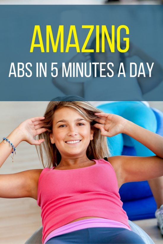 You can fit in a workout with one of these easy ab exercises.