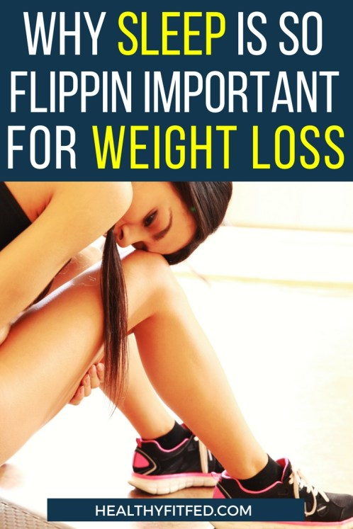 How lack of sleep can effect your weight loss efforts. Sleep is way more important than your giving credit to it!