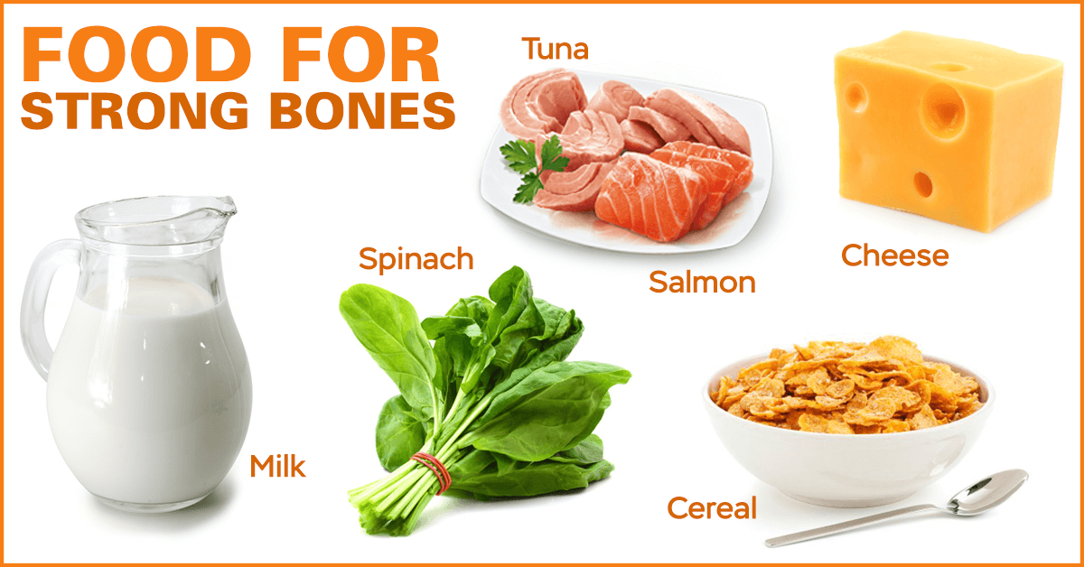 10 Foods For Strong Bones
