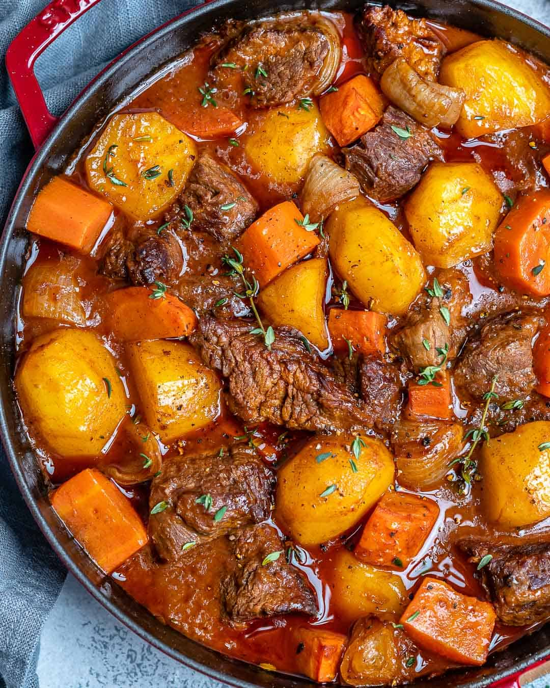 Easy Homemade Beef Stew | Healthy Fitness Meals