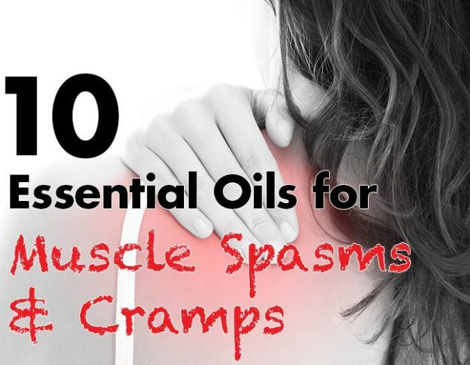 essential oils for muscle spasms and cramps