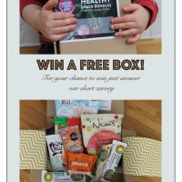WIN a free 'Healthy Snack Bundle'!