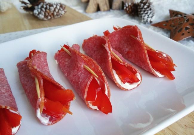 salami paprika rolletjes met roomkaas1