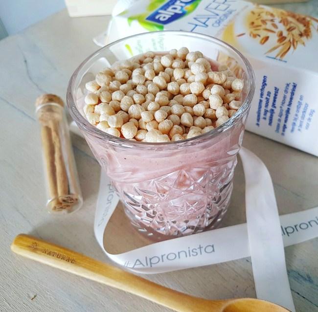 vezelrijke roze smoothie 2