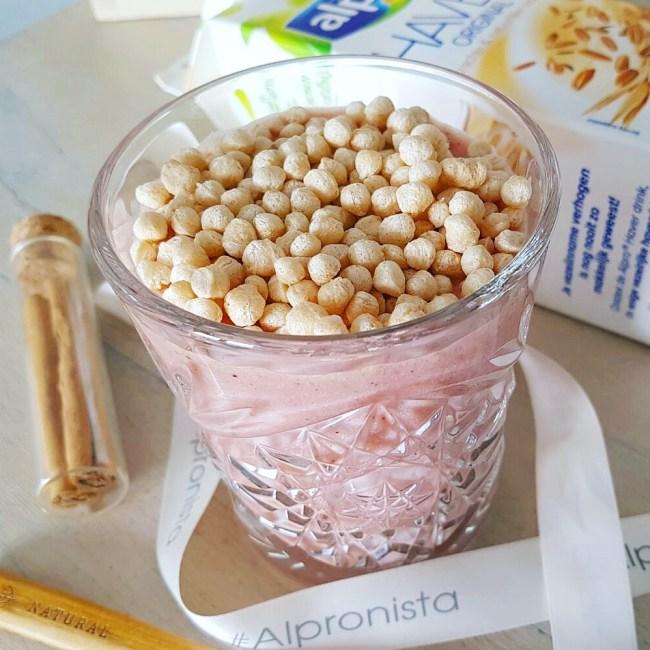 Roze vezelrijke smoothie 1