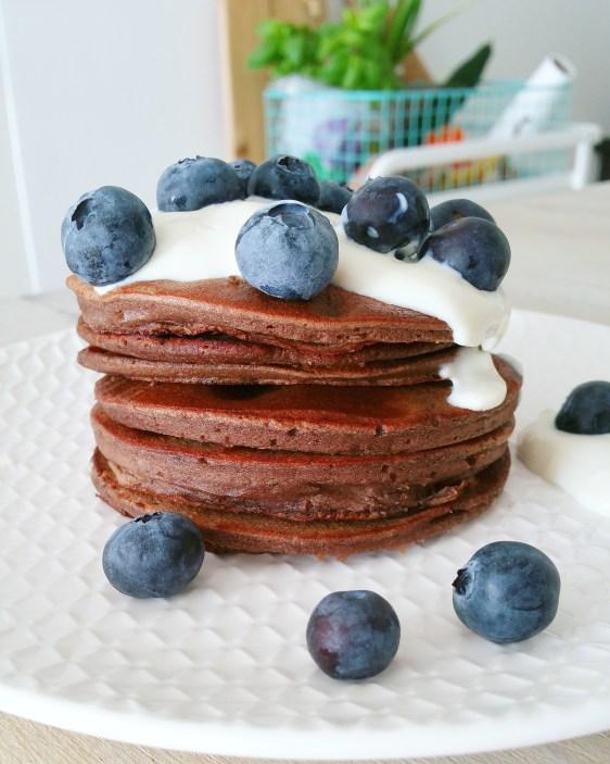 Eiwitrijke chocolade pannenkoekjes 1