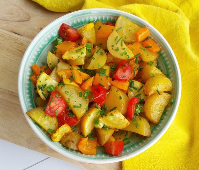 simpele aardappelsalade uit de oven 2