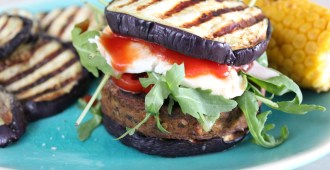 aubergine burger 2