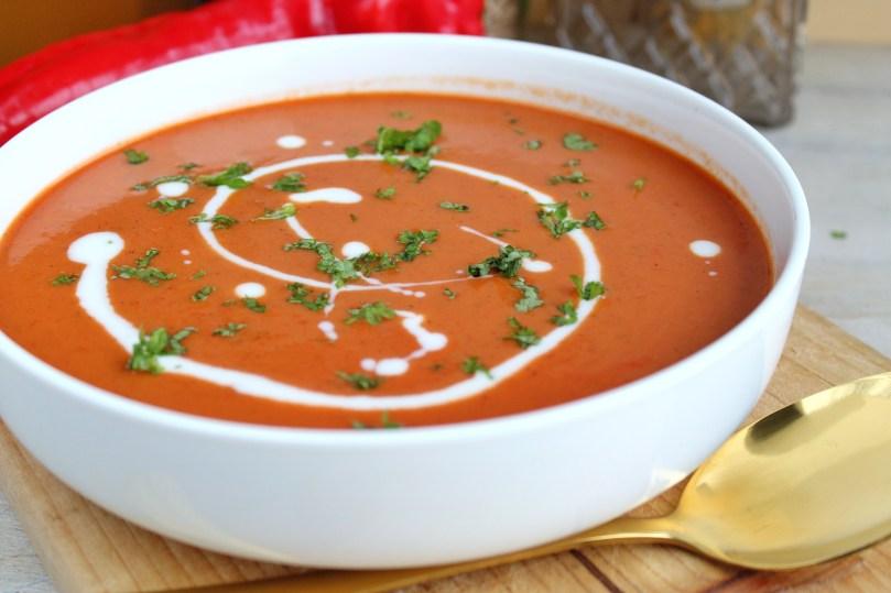 spicy zoete punt paprikasoep 1