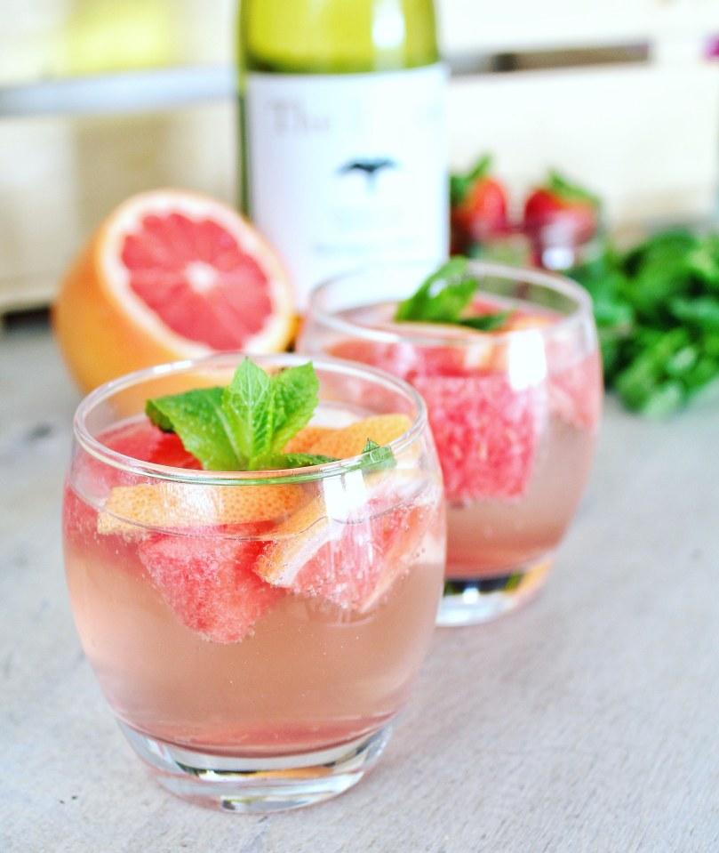 grapefruit en watermeloen cocktail 1