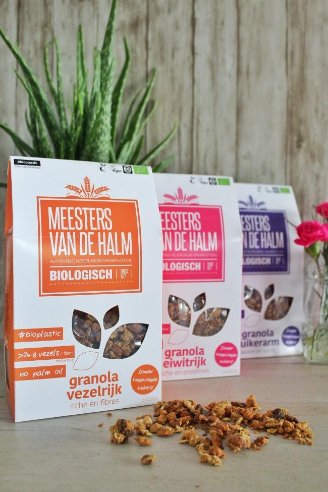 Meesters van de Halm granola