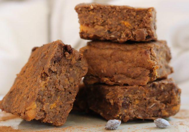 zoete aardappel brownies About Food
