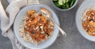 tofu tikka met aubergine van Judith myfoodblog