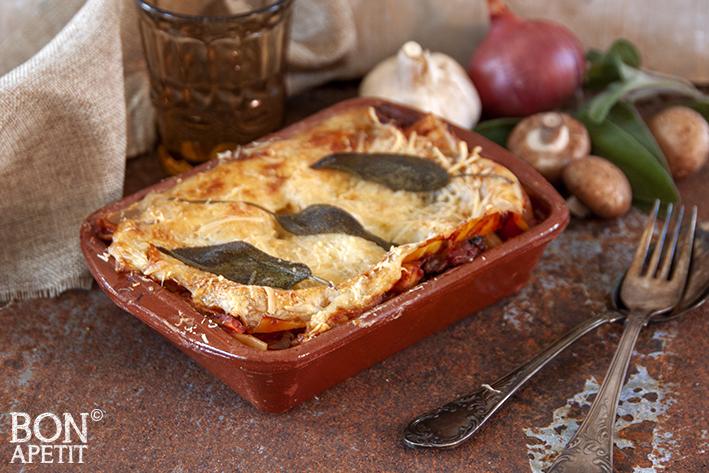 vegetarische lasagne van Astrid