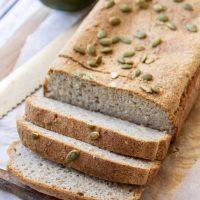 Gluten-Free Vegan Pumpkin Seed Bread