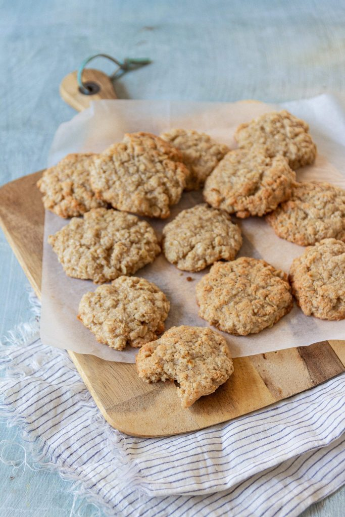 vegan anzac biscuit recipe
