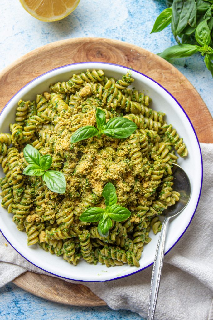 vegan healthy pesto recipe