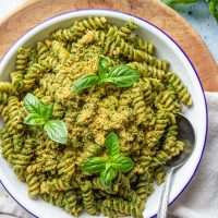 Vegan Kale Pesto Recipe(Nut-free)