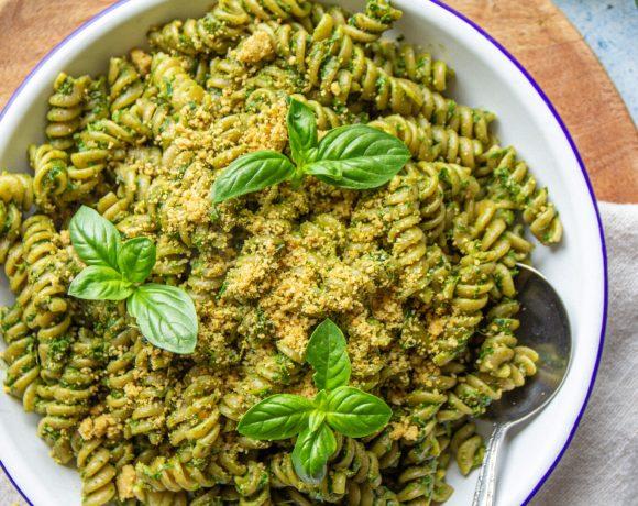 vegan kale pesto recipe