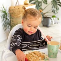 Vegan Calcium food sources and a Day In the Plate - vegan toddler edition