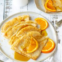 French Vegan Crepes Recipe