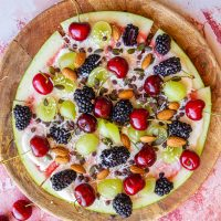 Healthy Watermelon Fruit Pizza