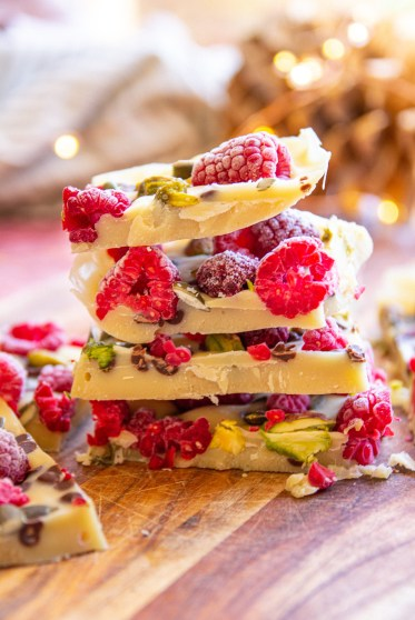 christmas vegan white chocolate